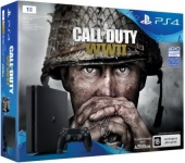 Игровая приставка SONY PlayStation 4 1TB + Call of Duty: WWII (CUH-2108B)
