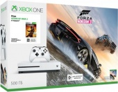 Игровая приставка MICROSOFT Xbox One S 500Gb + Forza Horizon 3 + Gears of War 2