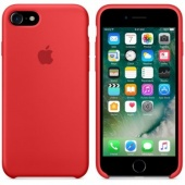 Чехол APPLE Silicone Case для iPhone 7, Red (MMWN2ZM/A)